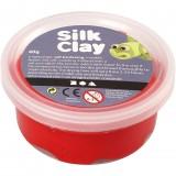 Silk Clay i Rød til modellering/40 g