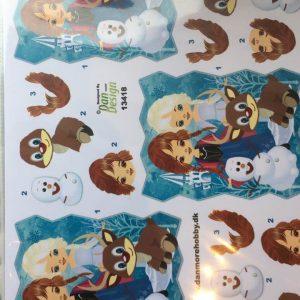 Børn/3d ark med Disneys Frost