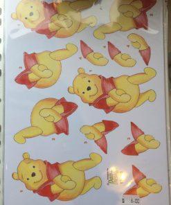 Børn/3d ark med nuttede Peter plys