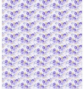 Castello/Papir med smukke blå roser