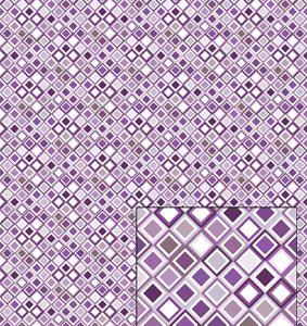 Castello/Papir med små lilla ruder