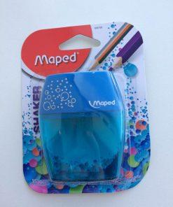 Maped Blyantspidser/shaker/blå