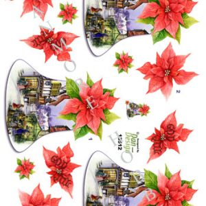 Jul/3d ark med flotte juleklokker/Dan-design