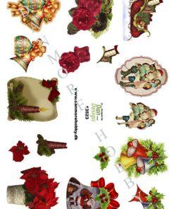 Jul/3d ark med forskellige julemotiver/Dan-design