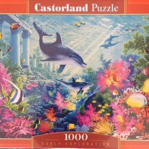Puzzlespil/1000 brikker/Tropiske fisk