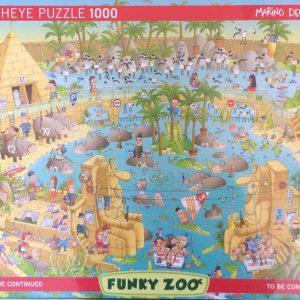 Puzzlespil/1000 brikker/Funky zoo Egypten