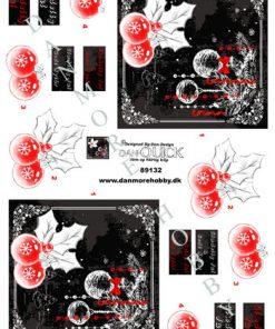 Jul/3d ark med smuk julepynt/Dan-design