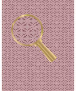 Castello/papir/Motiv på brun baggrund
