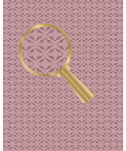 Castello/Papir/Motiv på lysebrun baggrund