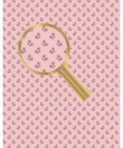 Castello/papir med små lyserøde blomster