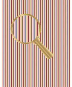 Castello/Papir med striber i flotte farver