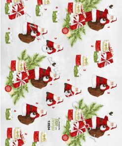 Jul/3d ark med en julemand/Dan-Design