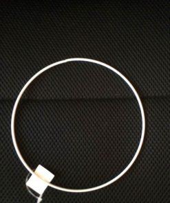 Metalring i hvid/til uroer/15 cm