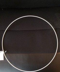 Metalring i hvid/til uroer/30 cm
