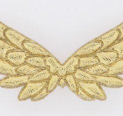 Engelvinger i guld / store 5 cm