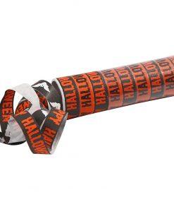 Serpentiner, sort, orange / Halloween 2 Ruller