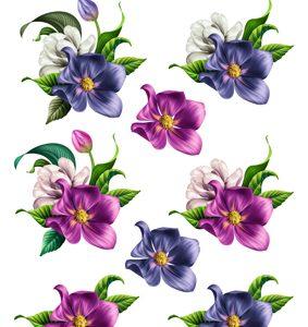 Blomster/3D ark med smukke blomsterhoveder/Quickies 3D
