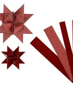 Stjernestrimler med glitter og lak / Vivi Gade
