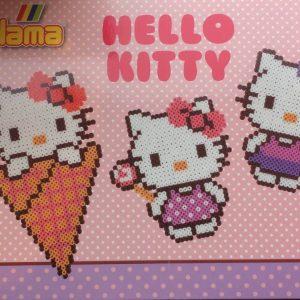 Hama midi gaveæske med Hello kitty