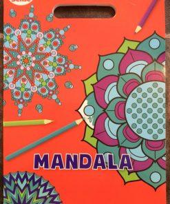 Malebog med flotte mønstre / Mandala