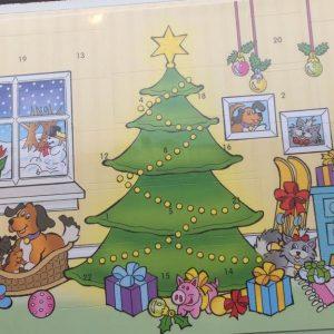 Hama midi gaveæske 1 - 24 adventskalender