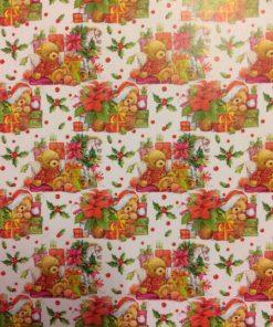 Castello / Papir med små jule-bamser
