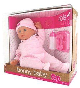Bonny Baby 46 cm dukke + 18 mdr