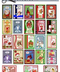 Jul / Til og fra med julemotiver / Quickies