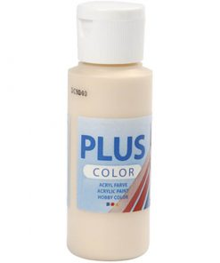 Plus color hobbymaling / Hudfarvet 60 ml