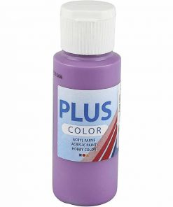 Plus color hobbymaling / Lilla 60 ml