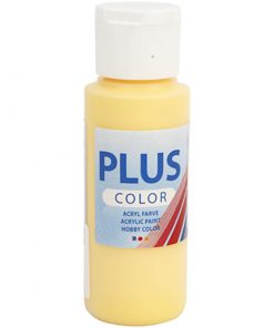 Plus color hobbymaling / Crocet Yellow 60 ml