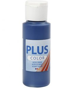 Plus color hobbymaling / Navy blå 60 ml