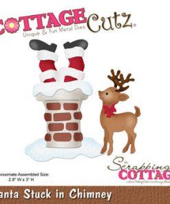 Dies cottage cuts / Julemand i skorsten
