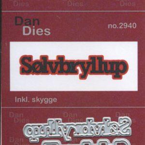 Dies Dan Dies med teksten sølvbryllup / Ml.Str.