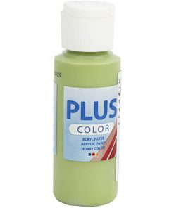 Plus color hobbymaling, lys grøn / 60 ml