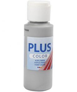 Plus color hobbymaling, regn grå / 60 ml