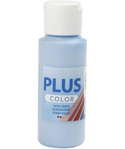 Plus color hobbymaling, sky blå / 60 ml