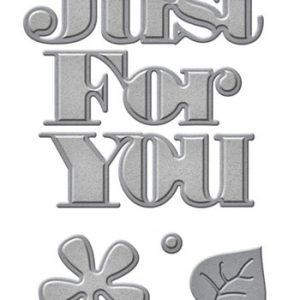 Dies spellbinders / Just for you