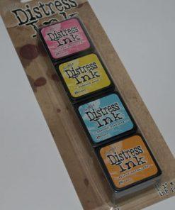 Stempel puder mini sæt med 4 farver