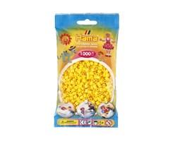 Hama midi perler i gul / farvenr: 207-03