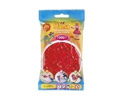Hama midi perler i rød / farvenr: 207-05