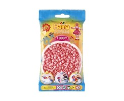 Hama midi perler i pink / farvenr: 207-06