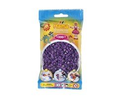 Hama midi perler i lilla / farvenr: 207-07