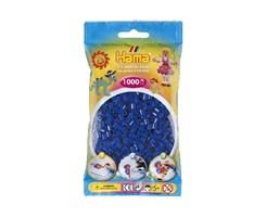 Hama midi perler i blå / farvenr: 207-08