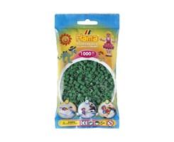 Hama midi perler i grøn / farvenr: 207-10