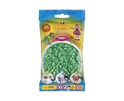 Hama midi perler i lys grøn / farvenr: 207-11