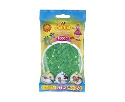 Hama midi perler i tr. grøn / Farvenr: 207-16