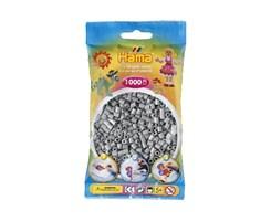 Hama midi perler i grå / farvenr: 207-17