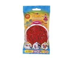 Hama midi perler i mørke rød / farvenr: 207-22