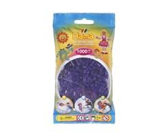 Hama midi perler i lilla / farvenr: 207-24
